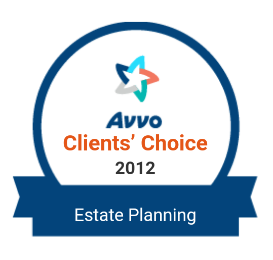 Avvo Rating: Client's Choice 2012